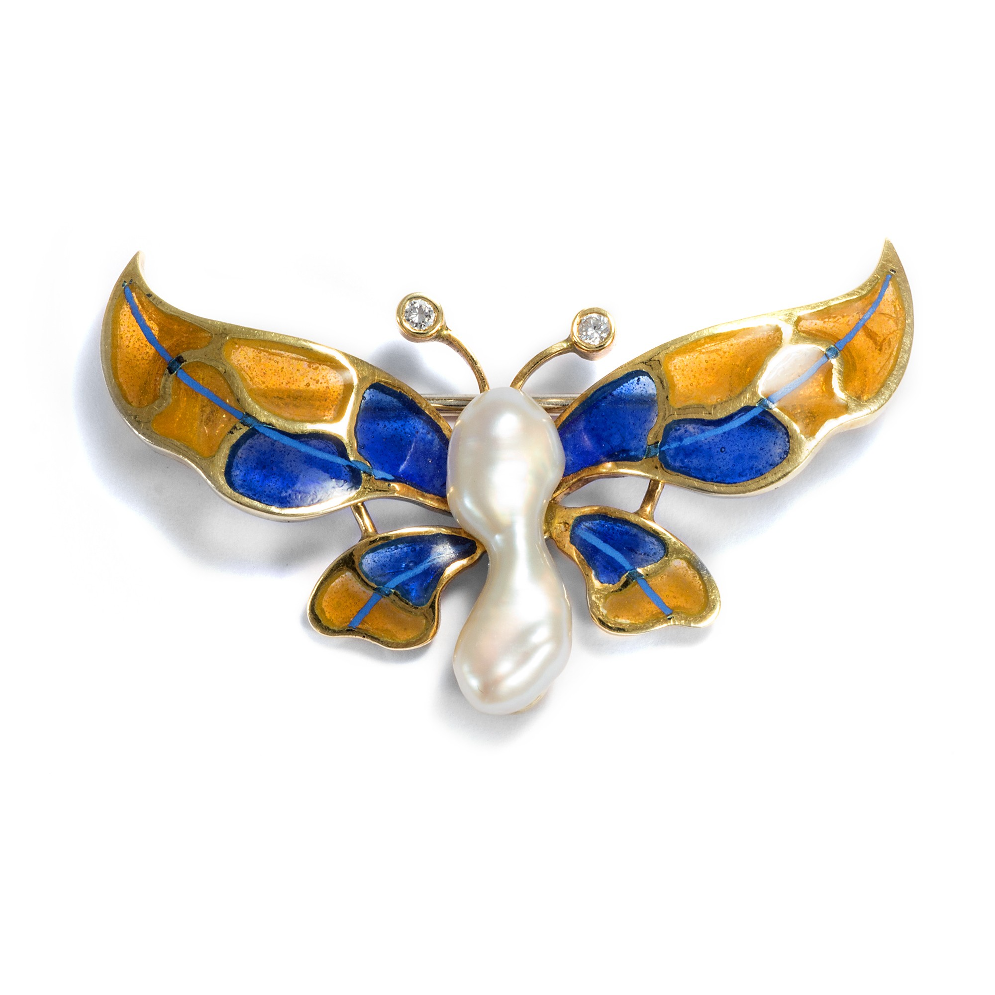 white ring jewelry effy diamond gold sapphire blue tcw butterfly
