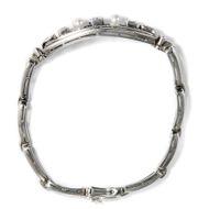 Was willst du mehr? - Edles Armband der 1950er Jahre mit 1,50 ct Diamanten & Perlen in Weißgold. Photo © 2018 Hofer Antikschmuck Berlin