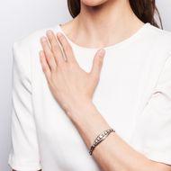 Was willst du mehr? - Edles Armband der 1950er Jahre mit 1,50 ct Diamanten & Perlen in Weißgold. Photo © 2019 Hofer Antikschmuck Berlin