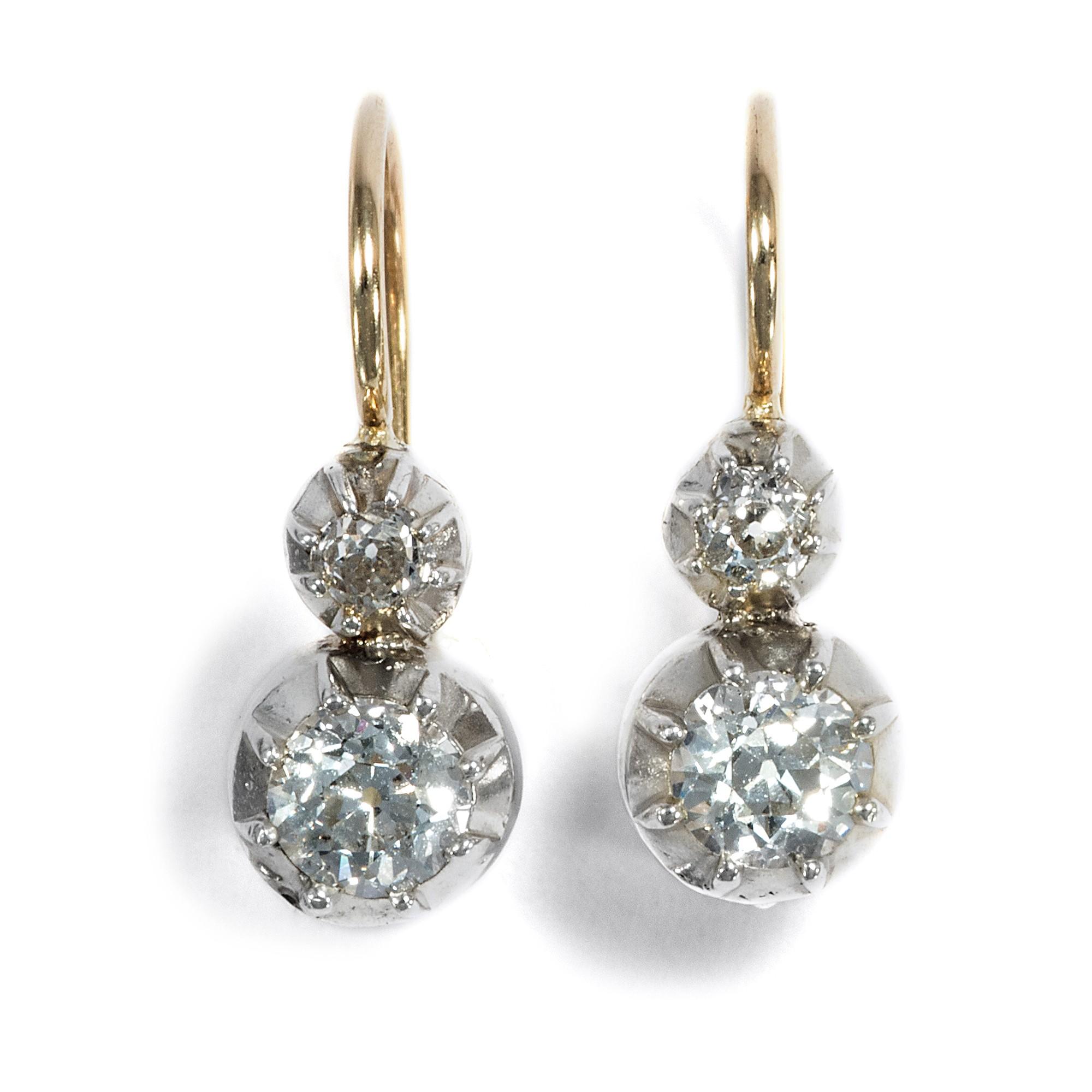 Diamant ohrstecker 1 carat