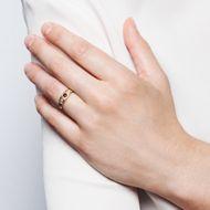 Der Dehli Durbar und seine Folgen - Viktorianischer Gypsy-Ring mit Rubinen & Diamanten in Gelbgold, um 1890. Photo © 2019 Hofer Antikschmuck Berlin