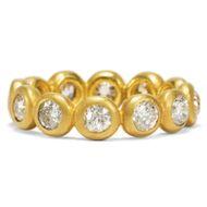 L'Amour Éternel - Moderner Memory-Ring mit 1,59 ct antiken Altschliff-Diamanten in Gold, um 1995. Photo © 2019 Hofer Antikschmuck Berlin