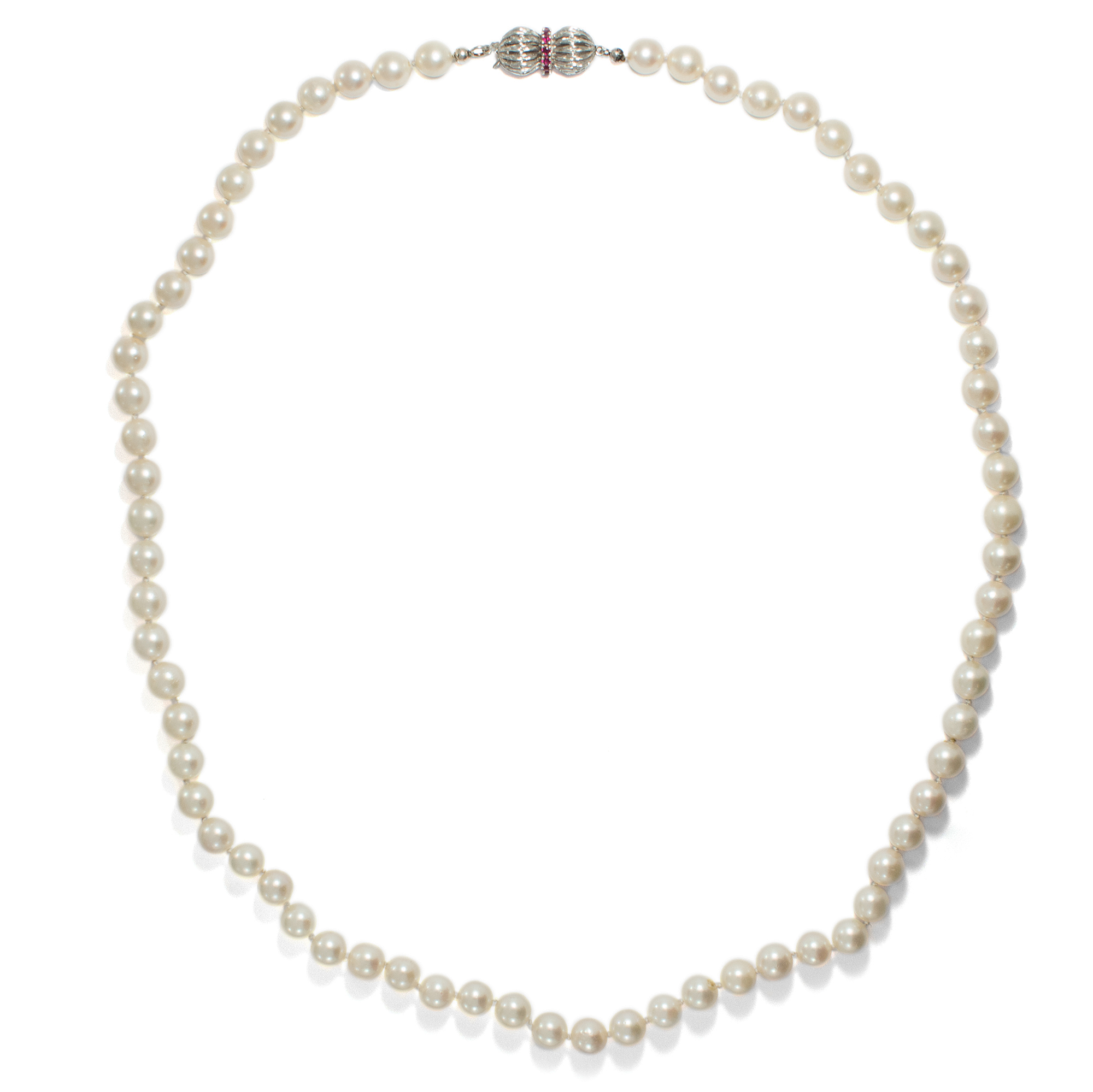 necklace pearl freshwater jewellery luxury gold white in winterson