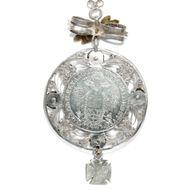 Die Pracht zur Tracht - Großes Trachten-Collier mit Silbermünze von 1822, Österreich um 1870. Photo © 2018 Hofer Antikschmuck Berlin