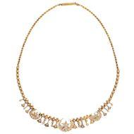 Lockende Fremde - Wunderbares antikes Perlen- & Gold-Collier aus Großbritannien, um1900. Photo © 2019 Hofer Antikschmuck Berlin