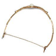 Die Leichtigkeit des Seins - Feines Armband der Belle Époque mit Naturperle & Diamanten, um 1910. Photo © 2019 Hofer Antikschmuck Berlin