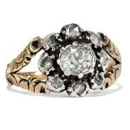 Uhren & Schmuck Preiswert Kaufen Brillantbrosche Diamantbrosche 18kt 750 Gold Mit Brillanten Diamanten .
